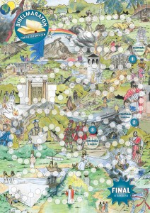 Bibelmaraton affisch 2015